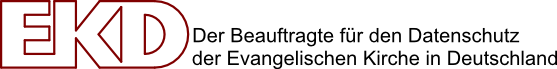Der Beauftragte für den Datenschutz der EKD Logo