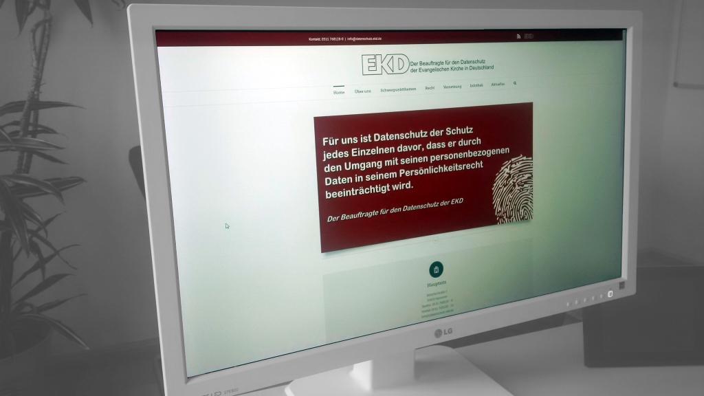 Webseite des BfD EKD