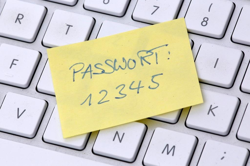 Passwort 12345