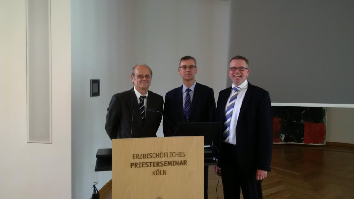 Dr. Siegfried Fachet, Andreas Könen und Michael Jacob.