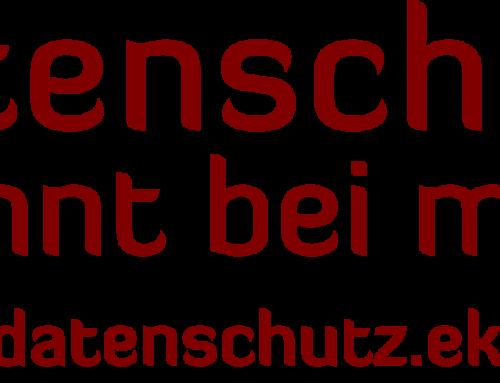 "Poster-Kampagne ""Datenschutz beginnt bei mir"""