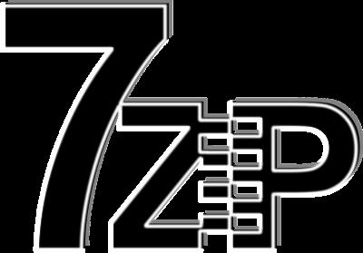 Große Sieben und kleineren Buchstaben ZIP. Das I word als Reißverschluss darbestellt.