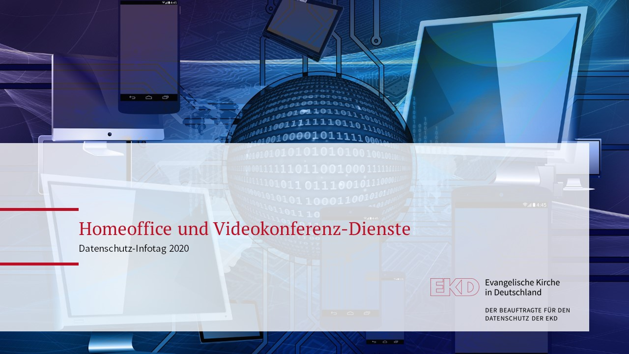 Präsentation Datenschutz-Infotag 2020