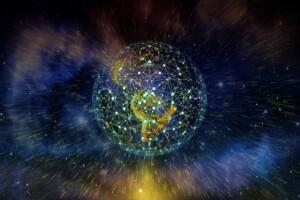 Symbolbild digitales Netzwerk